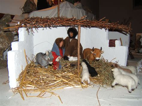 stall bethlehem 1991 weihnachtskrippe evangelische kirchengemeinde genkingen