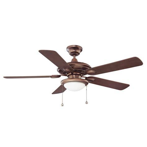 46 inch ceiling fan hton bay southwind 52 in indoor venetian bronze