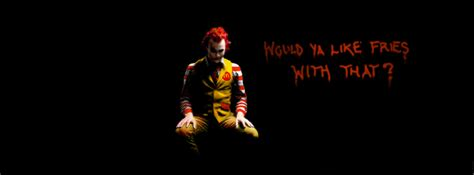 Images Of Wall Stickers ronald mc donald joker mechant clown would you like fries