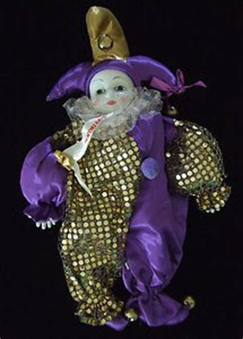 china doll new orleans baby jester new orleans porcelain luck clown doll