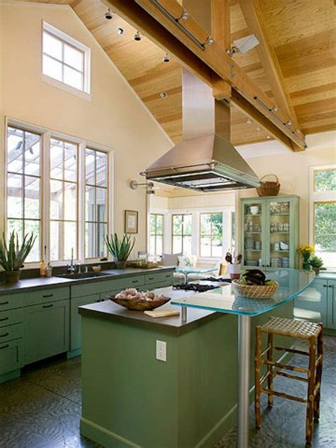 vaulted ceiling kitchen ideas espacios felices happy 18 best images about modern kitchen on pinterest