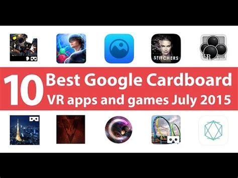 android vr apps 10 best cardboard vr apps and for android july 2015