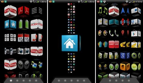 best homescreen launcher apps for android best 3d homescreen launchers for android