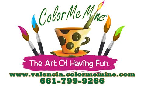 color me mine santa color me mine valencia visit santa clarita