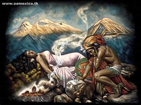 imagenes de la leyenda del amor eterno mexicanos por el mundo leyenda popocatepetl e iztaccihuatl