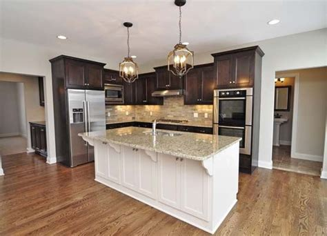 kitchens with different colored islands kitchen island gonyea for the home