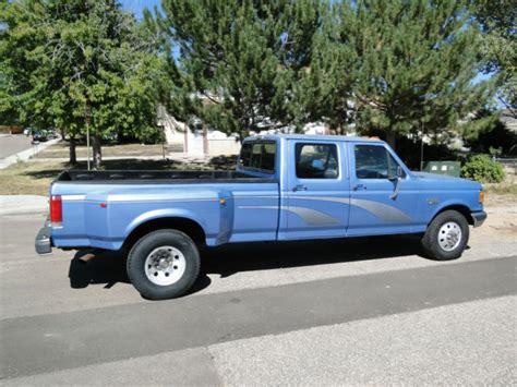 1991 ford f 350 crew cab xlt dually 1 ton 4 door f250
