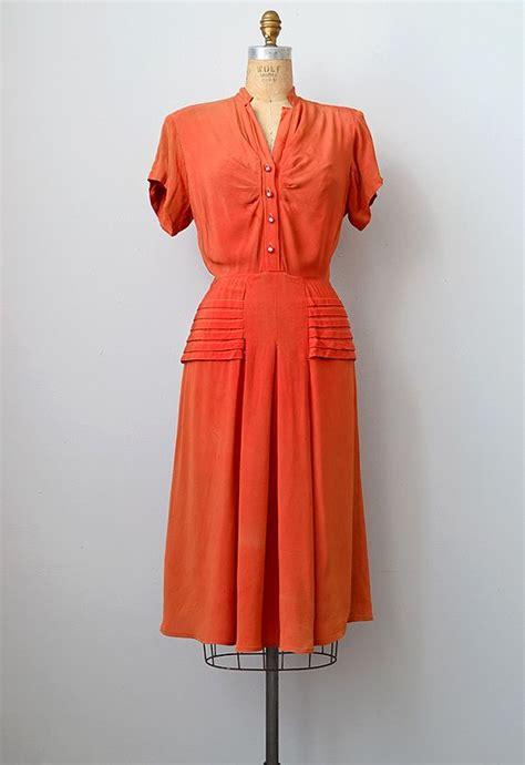 Dress Wanita Sw Dress Orange 890 best images about 1940 s wwii dress inspiration on southwest high school