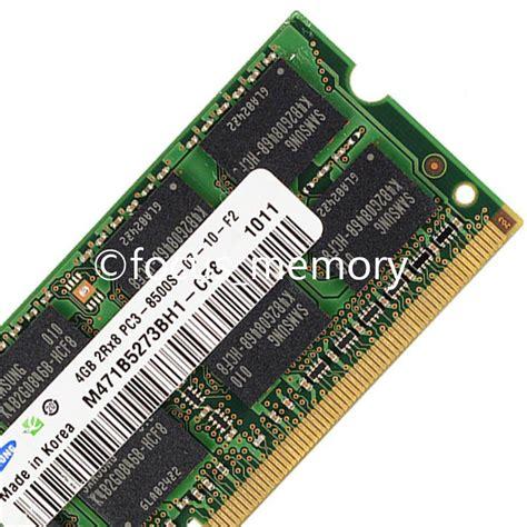 Ram 4gb Untuk Laptop Samsung b 225 n ram laptop samsung 4gb 1066 pc 8500 for macbook