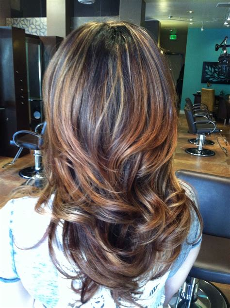 partial hair foil coloring partial highlight ombr 233 hair pinterest partial