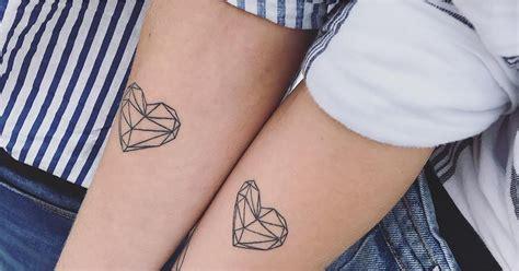 matching love tattoos matching ideas popsugar