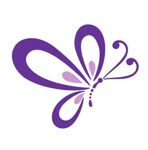 Animal Stickers For Walls purple butterfly wall decal large 9x11 size