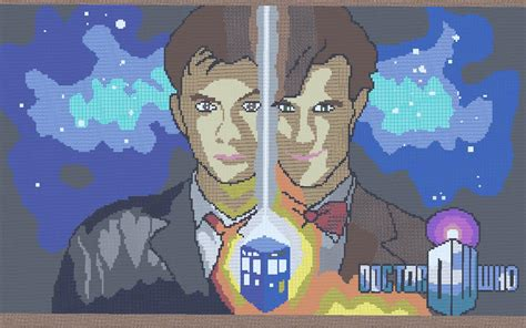 10th doctor pixel art minecraft doctor who s tenth and eleventh doctor minecraft project