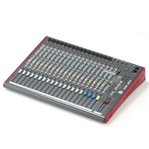 Allenheath Zed 22fx Stereo Mixer With Effect allen heath zed 22fx 22 channel mixer with usb and