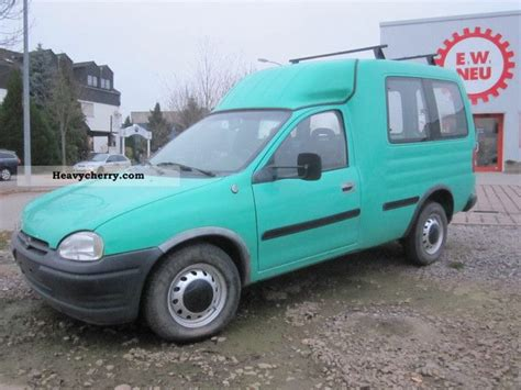 opel combo 1996 estate minibus up to 9 seats van or truck up to 7 5t