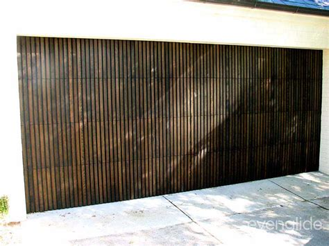 Designer Garage Doors evenglide custom garage doors melbourne brisbane