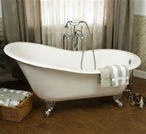 barclay ctsn60 cast iron slipper soaking tub atg stores