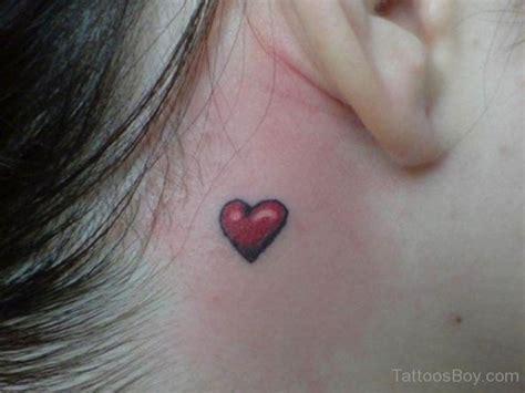 heartbeat tattoo behind ear wonderful heart tattoo on neck tattoo designs tattoo
