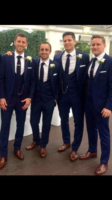 Attire Wedding Suit Hire by Mr Neville 2015 The Groom And 2 Ushers Are Wearing Royal