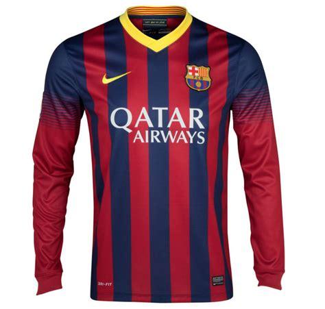 Tshirt Barcelona 13 13 14 barcelona home sleeve soccer jersey shirt barcelona