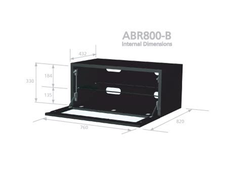 Alphason ABR800 B TV Stands