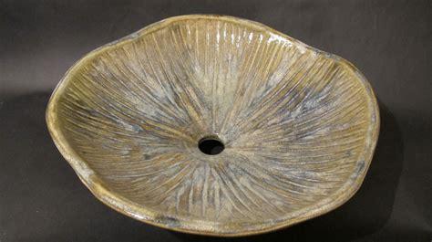 Handmade Pottery Vessel Sinks - handmade pottery sink vessel by stonefly ceramics