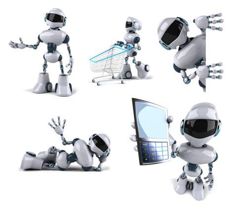Robot Action Psd Over Millions Vectors Stock Photos Hd Free Robotics Ppt Templates