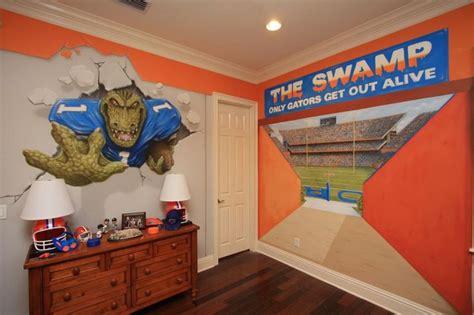 florida gators bedroom decor jacksonville gators bedroom boys pinterest