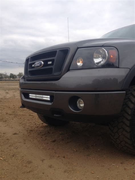 Ford F150 Led Light Bar by Led Light Bar Mounting 2007 Lariat Ford F150 Forum Community Of Ford Truck Fans