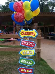 Diy Carnival Themed Decorations - best 25 carnival themed birthday party ideas on pinterest circus theme party circus carnival