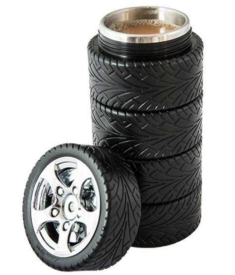 Novelty Coffee Mugs excluzy black creative tyre shaped mug buy online at best