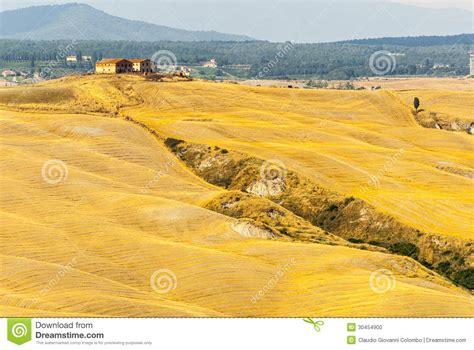 Landscape Characteristics Crete Senesi Characteristic Landscape In Val D Orcia