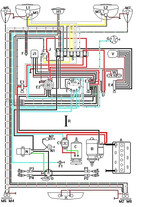 71 vw beetle wiring diagram get free image about wiring