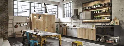 Glass For Cabinets In Kitchen by Modern Loft Kitchen Design With A Vintage Industrial Look