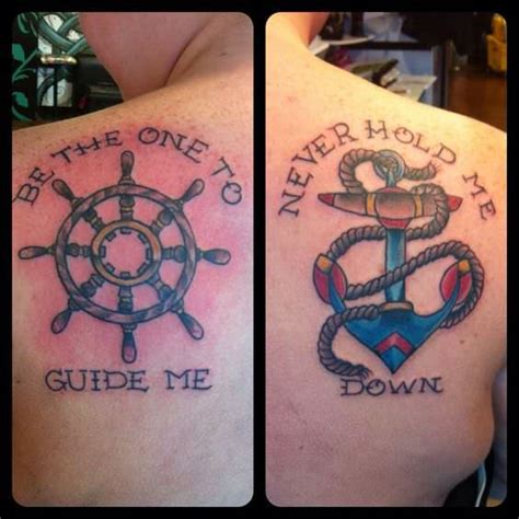 meaning of anchor tattoo for couples 250 lovely matching tattoos for couples wild tattoo art