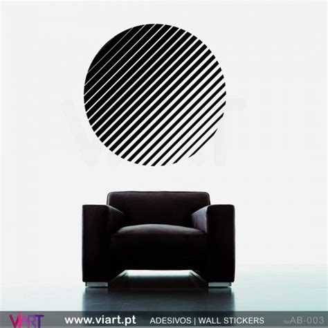 striped wall stickers striped circle wall stickers wall viart