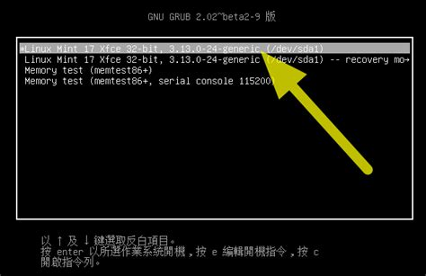 resetting linux mint password 雄 linuxmint 重設 root 密碼