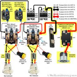 2 pole 24v contactor relay wiring diagram 2 wiring diagram free