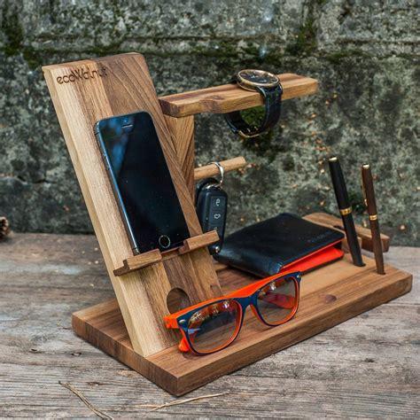 iphone table idea  dad desk organizer gifts  men