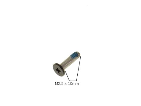single replacement for dell oem alienware screws m25x10