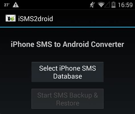 transfer sms from android to iphone isms2droid to transfer text messages from android 28