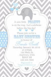 baby shower invitation elephants invitation baby shower invitations elephant shower