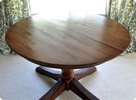 how to stain a dining table how to restain a wood table top minwax pre stain wood