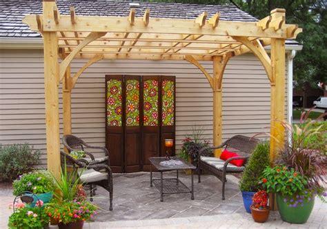 wooden pergola 10x10 pergola outdoor living today