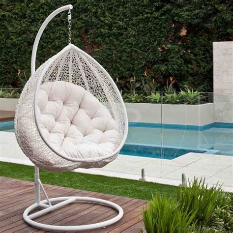 Hanging egg chair white buy egg hanging chair amp hanging egg chairs milan direct