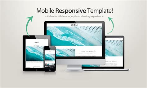 responsive template for template umea templates