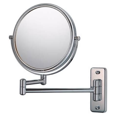 aptations chrome hardwired swing arm lighted vanity mirror aptations swing arm silver chrome 7 3 4 quot wide vanity