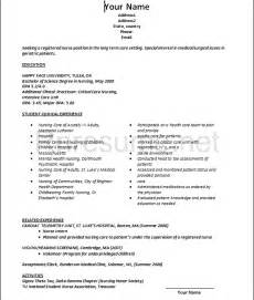 Resume Template For Nurses Resume Format Download Pdf