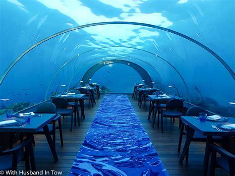 Room Further Light Blue 5 8 underwater restaurant dining underwater maldives
