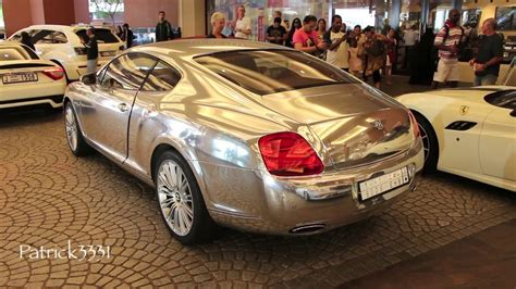 chrome bentley chrome bentley continental gt quot bling bling edition quot youtube